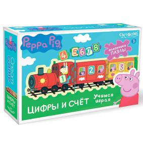 Սեղանի խաղ 01563 Peppa Pig Շոգեքարշ թվեր և հաշիվ