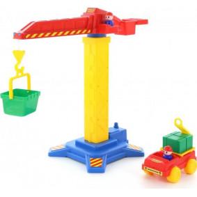 Խաղալիք ամբարձիչ 58195 կռունկ №1 + ավտոմեքենա