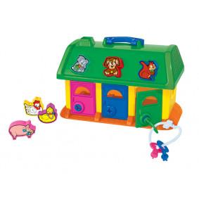 Խաղալիք Տնակ 9166 կենդանիների համար