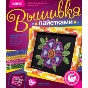 Ասեղնագործություն փայլերով Вп-001 Ծաղիկ LORI
