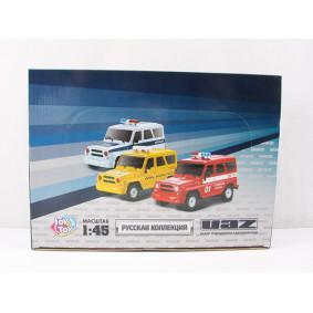 Ավտոմեքենա 1:45 GT 8161 УАЗ 6218 իներցիոն