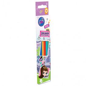 Մատիտներ 6 գույնանի LPBB-US1-P-6