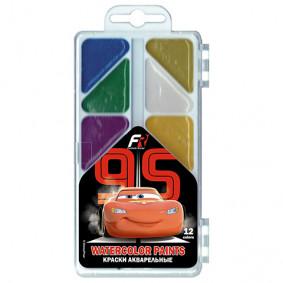 Ջրաներկ 12 գույնանի CRBB-US1-PNT-PLB12