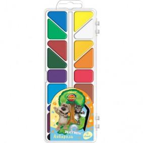 Ներկեր TT14-3A18 18 գույն, ջրաներկ