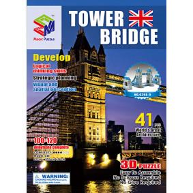 Փազլ G268-9 Թաուրյան կամուրջ 3D, 41 դետալից