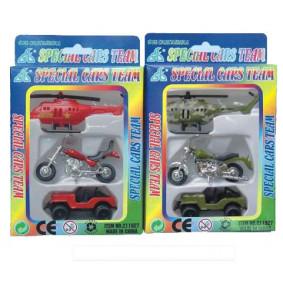 Խաղալիք մեքենաներ - Տրանսպորտ 694847 իներց., 3հատ