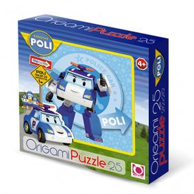 Փազլ 25А. 00160 Robocar ORIGAMI