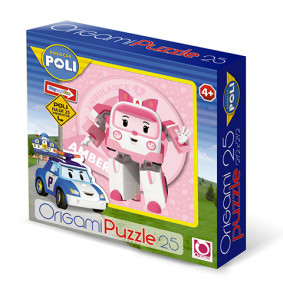 Փազլ 25А. 00161 Robocar ORIGAMI