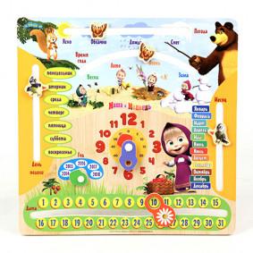 Տամաբանական խաղ GT8577 Մաշայի օրացույցը