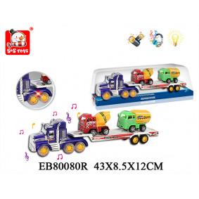 Ավտոմեքենա B24660 Ավտոքարշակ Իներցիոն,+ 2 մեքենա