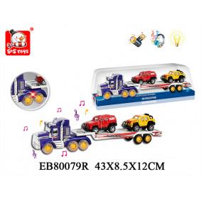 Ավտոմեքենա B24661 Ավտոքարշակ իներցիոն+ 2 մեքենա