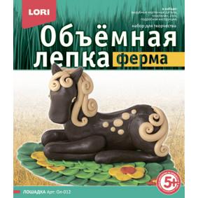 Հավաքածու Ол-012 պլաստիլին Ձիուկ LORI