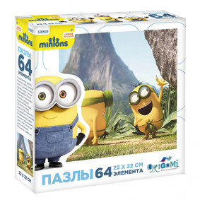 Փազլ 01702 64A Minions/Մինիոնները
