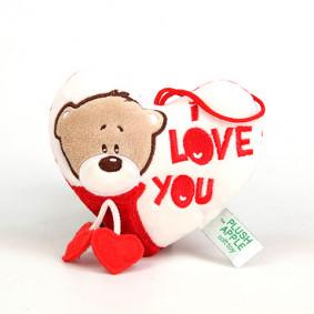 Փափուկ խաղալիք Սրտիկ K39051B , 13 սմ