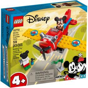 Конструктор 10772 Винтовой самолёт Микки LEGO