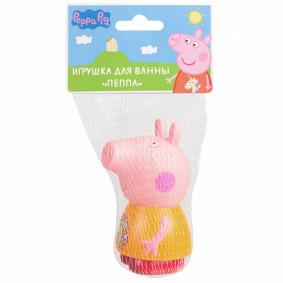 Свинка Пеппа. Игрушка для ванны Пеппа, 10см. TM Peppa Pig