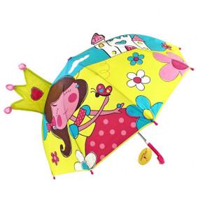 Зонт 53528 детский Маленькая принцесса 46см.