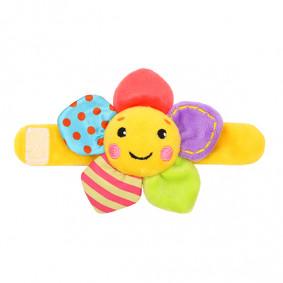 Погремушка на руку «Радужный цветочек»