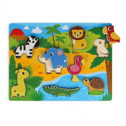 Вкладыши-фигурки 76850 Животные