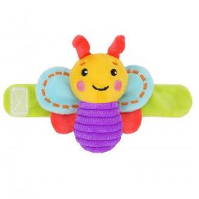 Погремушка на руку Бабочка