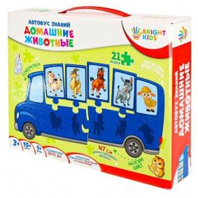 BRIGHT KIDS. Автобус знаний. ДОМАШНИЕ ЖИВОТНЫЕ Арт. (ИН-7639)