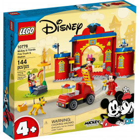 Конструктор 10776 Пожарная часть и машина Микки и его друзей LEGO