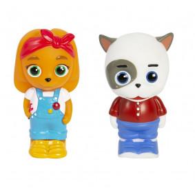 Кошечки-Собачки. Игровой набор Викки и Жоржик, пластизоль