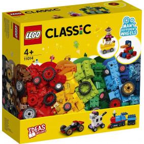 Կոնստրուկտոր 11014 խորանարդիկներ և անիվներ LEGO