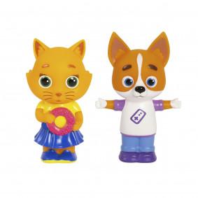 Кошечки-Собачки. Игровой набор Буся и Дэн, пластизоль
