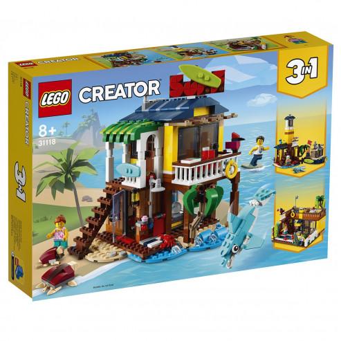 Конструктор LEGO CREATOR Пляжный домик серферов