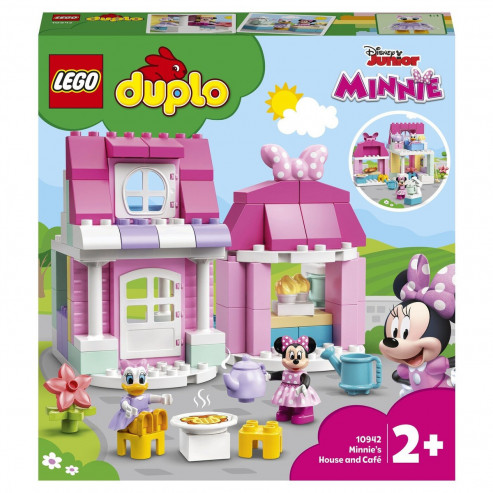 Конструктор 10942 Disney TM Дом и кафе Минни LEGO DUPLO