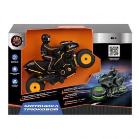 Мотоцикл 870457 р/у Трюковой, аккум, разворот колес, движение боком