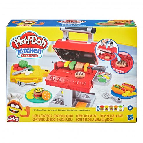 PLAY-DOH. Игровой набор Плей-До Гриль барбекю