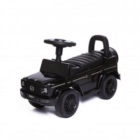 Каталка 652 Mercedes Benz G350d, черная, со звуком, в коробке