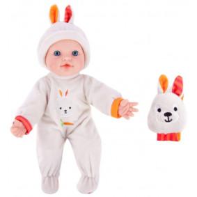Кукла 451187 Бекки с игрушкой Моя первая кукла м/н,  озвуч., 30см.