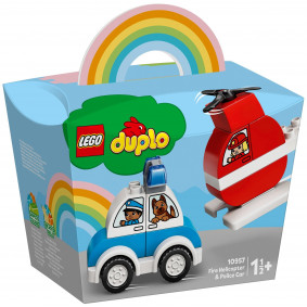 Կոնստրուկտոր 10957 ուղղաթիռ, մեքենա LEGO DUPLO