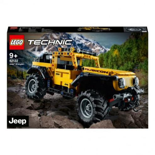 Կոնստրուկտոր 42122 Jeep® Wrangler LEGO TECHNIC