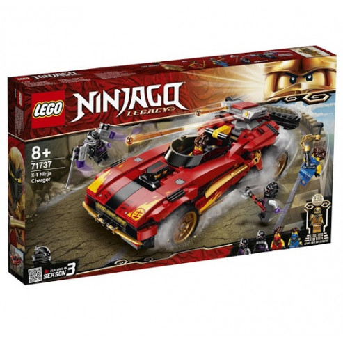 Կոնստրուկտոր 71737 գաղտնալսող-նինձյաLEGO Ninjago