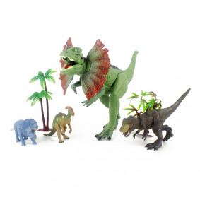 Դինոզավրերի հավաքածու RS007-1 ձայնով, լույսով