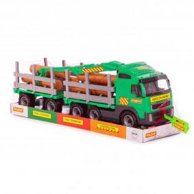 Volvo, ավտոմեքենա-փայտատար, կցցորդով