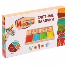 Ուսուցանող խաղալիք հաշվելու փայտիկներ