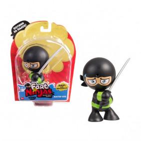 Խաղալիք 37000 Նինձյա՝ սև, սրով, TM Fart Ninjas
