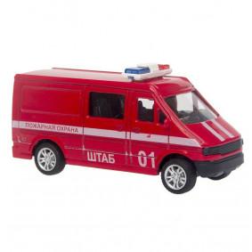 Ավտոմեքենա 1:43 23108 Հրշեջ ТМ Motorro