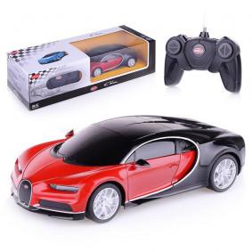 Հեռ․ մեքենա 1:24 Bugatti Chiron կարմիր