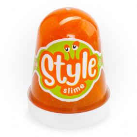 Сл-020 STYLE SLIME փայլփլուն, նարնջագույն 130մլ