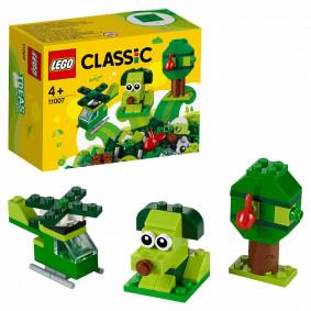 Կոնստրուկտոր 11007 Կանաչ հավաքածու LEGO CLASSIC