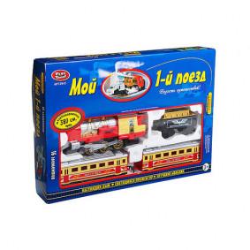 Գնացք 0615 ձայնով, լույսով, ծխով Play Smart