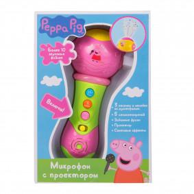 Երաժշտական միկրաֆոն 36726 պրոյեկտրով Peppa Pig