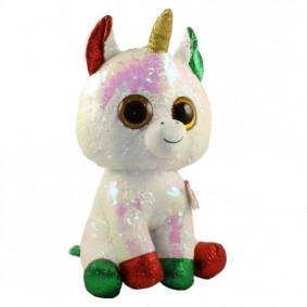 Փափուկ խաղալիք 36788 SEQUIN CHRISTMAS UNICORN MED