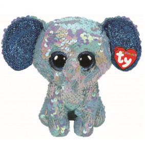 Փափուկ խաղալիք 36795 STUART - ELEPHANT SEQUIN MED